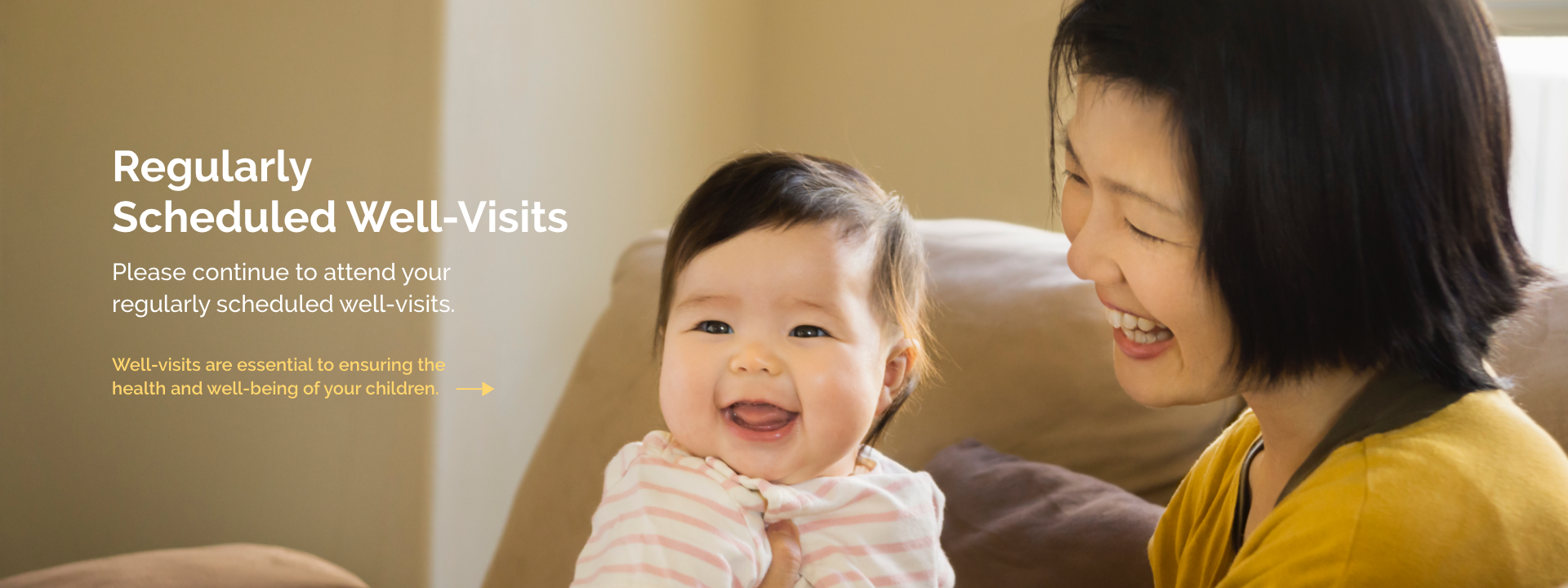 well-visits are essential to ensuring the health and well-being of your children